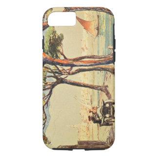 Rapallo, Italien - Vintage italienische Kunst iPhone 8/7 Hülle