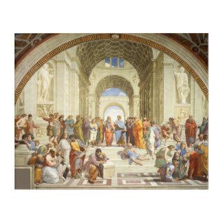 RAPHAEL - Die Schule von Athen 1511 Acryl Wandkunst