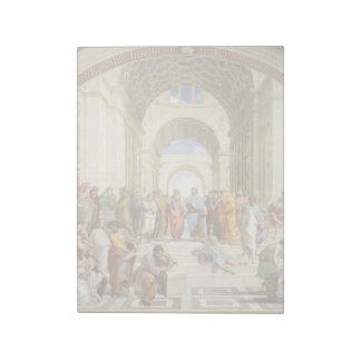 RAPHAEL - Die Schule von Athen 1511 Notizblock