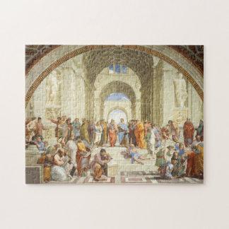 RAPHAEL - Die Schule von Athen 1511 Puzzle