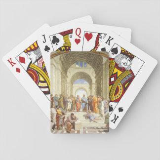 RAPHAEL - Die Schule von Athen 1511 Spielkarten