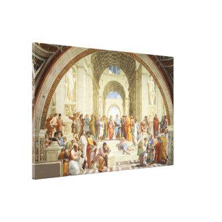 RAPHAEL - Die Schule von Athen 1512 Leinwanddruck