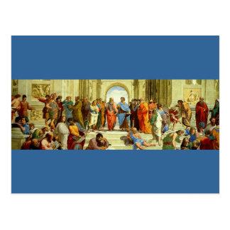 """RAPHAEL """"die Schule von Athen"""" Sonderkommando Postkarte"""