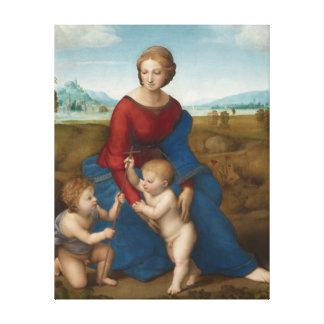 RAPHAEL Sanzio Madonna in der Wiese Leinwanddruck