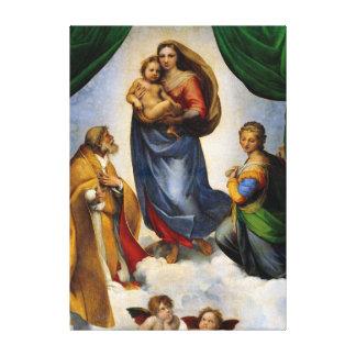 RAPHAEL Sistine Madonna Leinwanddruck