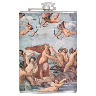 RAPHAEL - Triumph von Galatea 1512 Flachmann