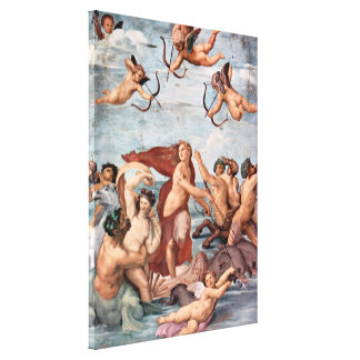 RAPHAEL - Triumph von Galatea 1512 Leinwanddruck