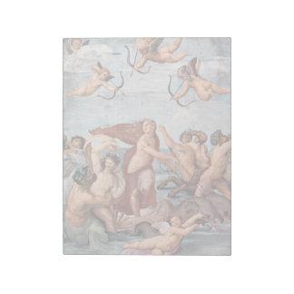 RAPHAEL - Triumph von Galatea 1512 Notizblock