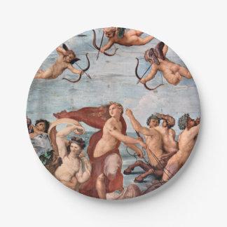 RAPHAEL - Triumph von Galatea 1512 Pappteller