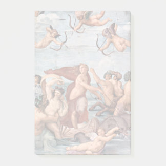 RAPHAEL - Triumph von Galatea 1512 Post-it Klebezettel