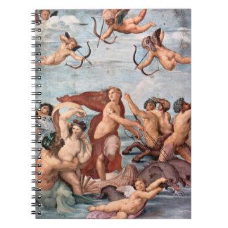 RAPHAEL - Triumph von Galatea 1512 Spiral Notizblock