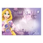 Rapunzel danken Ihnen Karten Personalisierte Einladungskarte
