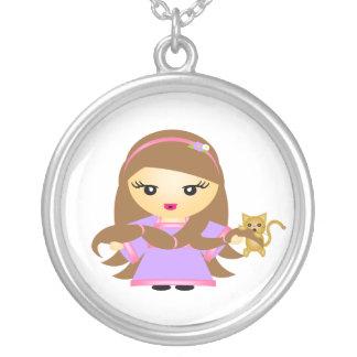 Rapunzel Versilberte Kette