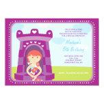 Rapunzels Schloss-Geburtstags-Einladung