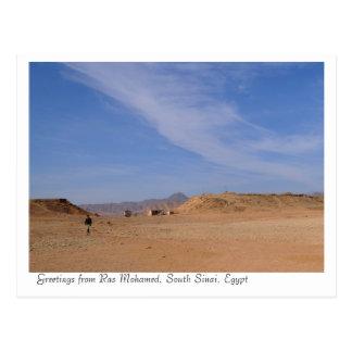 Ras Mohamed Landschaftsschutzgebiet-Park, Sinai, Postkarte