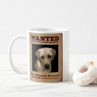 Rascally Retriever, alias gelber Labrador Kaffeetasse
