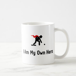Rasen-Bowlings-Held Kaffeetasse