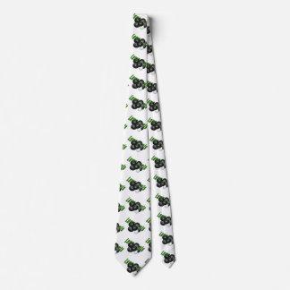 Rasen-Schüsseln und Logo, Personalisierte Krawatte