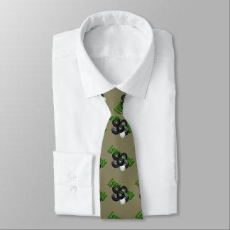 Rasen-Schüsseln und Logo, Personalisierte Krawatten