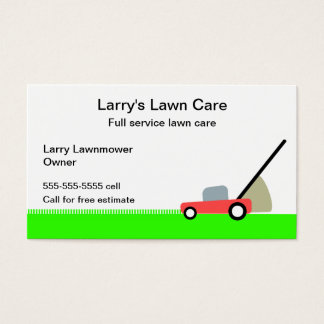 Rasen-Sorgfalt-Service Visitenkarte