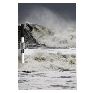 Rasende Meere des Hurrikans Sandy Memoboard