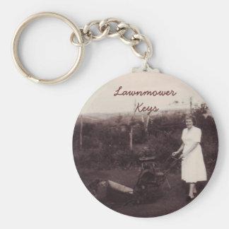 Rasenmäher Keychain Schlüsselanhänger