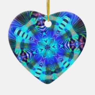 Raserei psychedelisch keramik ornament