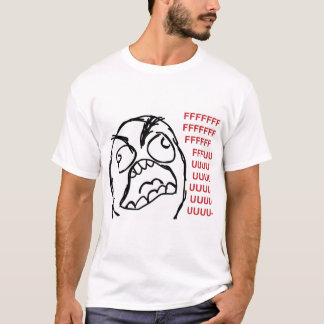 Raserei-Typ fuuu fuuuu T-Shirt