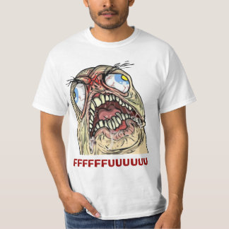 Raserei-Typ verärgerte Fu Internet meme T-Shirt