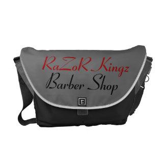 Rasiermesser Kingz Friseursalon fördernd Kuriertaschen