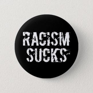 Rassismus ist zum Kotzen - Antifrömmler-Rassist Runder Button 5,7 Cm