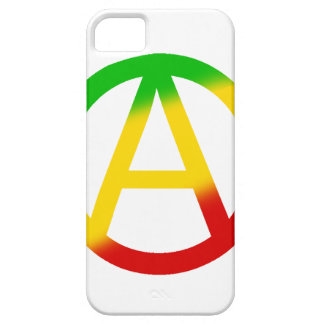 Rasta Anarchie-Symbol iPhone 5 Etui