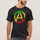 Rasta Anarchie-Symbol T-Shirt