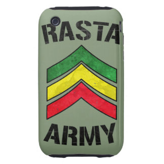 Rasta Armee Tough iPhone 3 Etuis