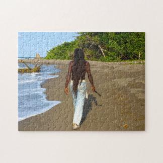 Rasta Art Jamaika Puzzle