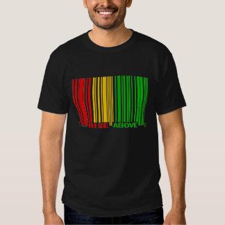 Rasta Aufstieg über Barcode! Tshirt