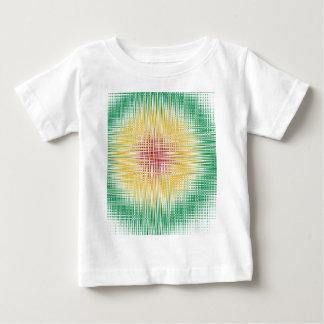 Rasta Bullaugen-Linien Baby T-shirt