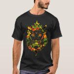 Rasta Camouflage-Löwe-Dunkelheit T-Shirt