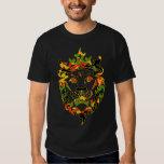 Rasta Camouflage-Löwe-Dunkelheit T-Shirts
