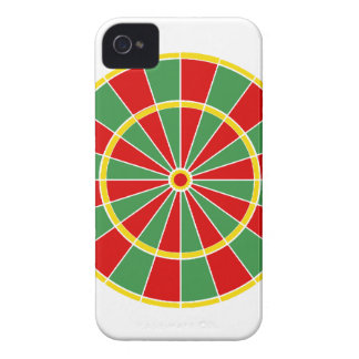 Rasta Dartboard-Muster iPhone 4 Case-Mate Hülle