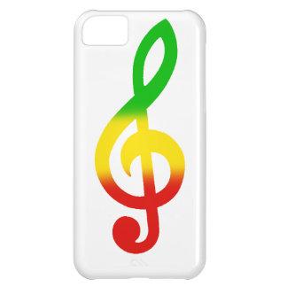 Rasta dreifacher Clef iPhone 5C Schale
