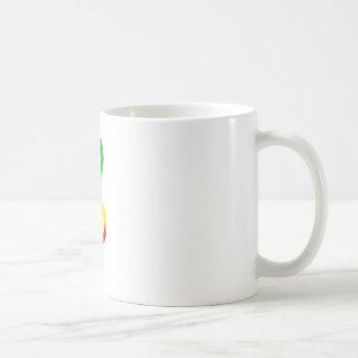 Rasta dreifacher Clef Kaffeetasse