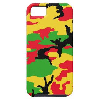 Rasta färbte Tarnung iPhone 5 Etui
