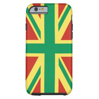 Rasta Flagge BRITISCHE iPhone 6 starker Fall Tough iPhone 6 Hülle