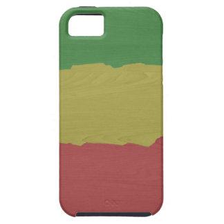 Rasta Holz-Korn iPhone 5 Hülle