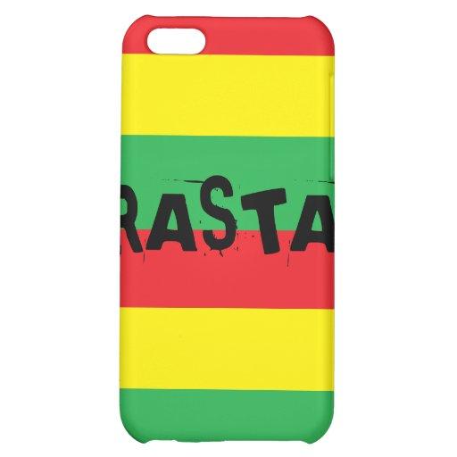 Rasta iPhone 4 Fall iPhone 5C Cover