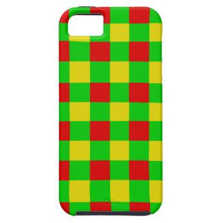 Rasta Karo Hülle Fürs iPhone 5