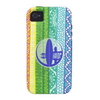 Rasta Muster Case-Mate iPhone 4 Case