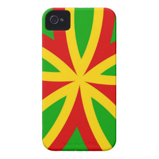 Rasta Muster iPhone 4 Cover