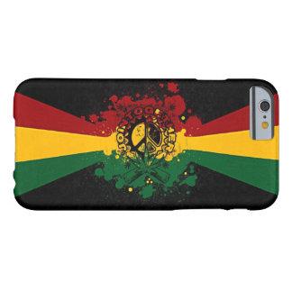 rasta Reggae-Graffiti-Musikkunst Barely There iPhone 6 Hülle